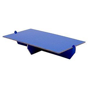 Bandeja Desmontável Retangular - Azul Arara - 01 unidade - Mesa Festa - Rizzo Confeitaria