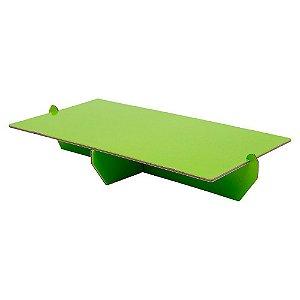 Bandeja Desmontável Retangular - Verde Avocado - 01 unidade - Mesa Festa - Rizzo Confeitaria