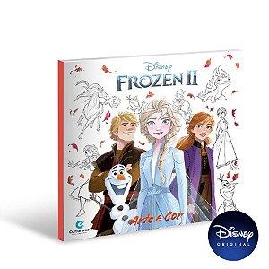 Livro Arte E Cor Frozen 2 - 01 Unidade - Culturama - Rizzo