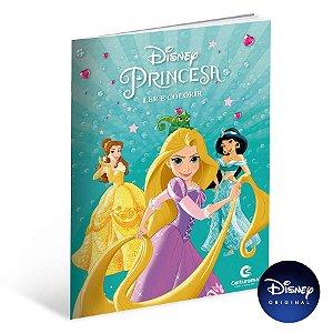 Livro Para Ler e Colorir Princesa - 01 Unidade - Culturama - Rizzo