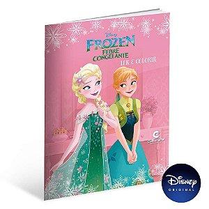 Livro Para Ler e Colorir Frozen Fever - 01 Unidade - Culturama - Rizzo