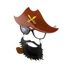 Óculos Pirata Festa Carnaval 01 Unidade Cromus Rizzo
