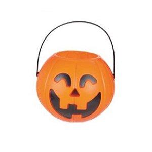 Baldinho Abóbora G 1un. Halloween Cromus Rizzo