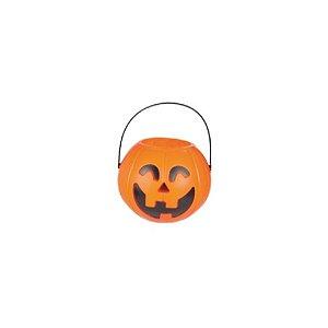 Baldinho Abóbora P 1un. Halloween Cromus Rizzo