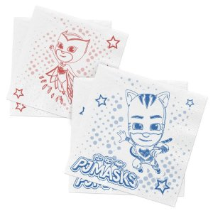 Guardanapos de Papel Festa PJ Masks 2 - 50 Unidades Regina Rizzo