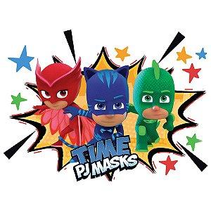 Painel Decorativo 106x98cm Festa PJ Masks 01 Unidade Regina Rizzo