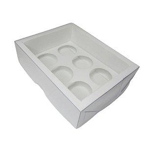 Caixa Base Brigadeiro - Branco - N1 (9cm x12cm x4cm) - 5 unidades - Assk - Rizzo