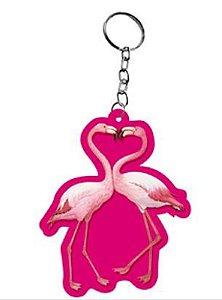 Chaveiro Lembrancinha - Flamingos - 1 UN - LitoArte - Rizzo