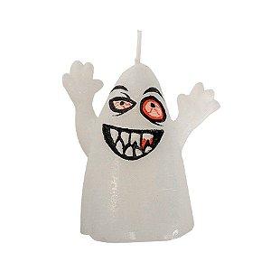Vela Decorativa Halloween - Fantasma - 1 UN - Rizzo
