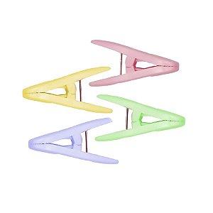 Prendedor de Plástico coloridos 12 unidades Fenima Rizzo Confeitaria