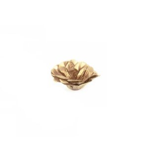 Forminha Flor - Metal Mono - Dourado - 50 UN - MaxiFormas - Rizzo