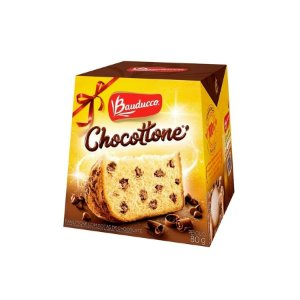 Confeitaria Natalina - Mini Chocottone - Bauducco - 80g - 1 Un - Rizzo