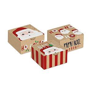 Caixa para Brigadeiros - Noelito - 10 unidade - Cromus Natal - Rizzo