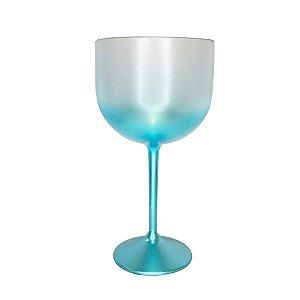Taça Gin Degrade Verde Tiffany 01 Unidade Rizzo