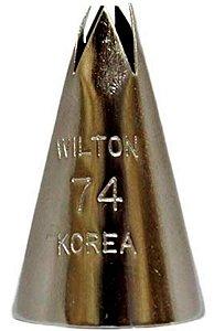 Bico para Confeitar Bico Folha 74 Wilton Rizzo Confeitaria