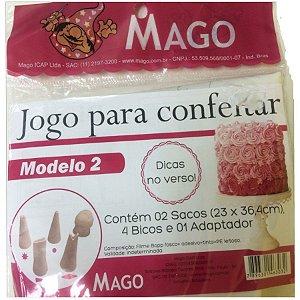 Kit de Confeitar Mod. 2 com 7 itens Mago Rizzo Confeitaria