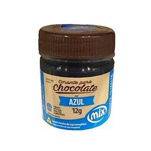 Corante em Pasta para Chocolate Azul 12g Mix