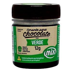 Corante em Pasta para Chocolate Verde 12g Mix