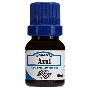 Corante Liquido azul 10ml Arcolor Rizzo Confeitaria