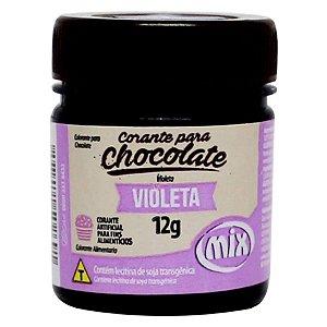 Corante em Pasta para Chocolate Violeta 12g Mix