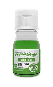 Corante liquido verde folha 10ml Mix Rizzo Confeitaria
