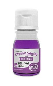Corante liquido roxo batata 10ml Mix Rizzo Confeitaria