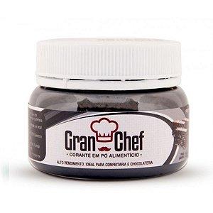 Corante em pó Preto (chocolate e confeitaria) 15g Granchef Rizzo Confeitaria