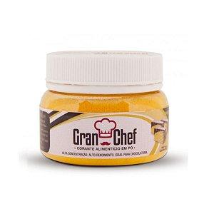 Corante em pó lipossoluvel amarelo 30g Granchef Rizzo Confeitaria