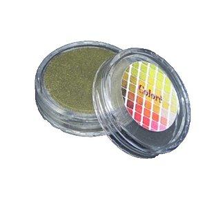 Pó para Decoração, Brilho para Superficie Colorê Dourado Metalizado 2g LullyCandy Rizzo Confeitaria
