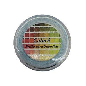 Pó para decoração, Brilho para superficie Colorê Tiffany 2g LullyCandy Rizzo Confeitaria