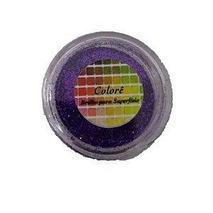 Brilho para superficie, Gliter Maravilha / Roxo 24PP 1,5g LullyCandy Rizzo Confeitaria