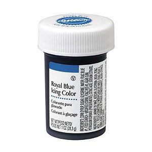 Corante em Gel Azul Royal 28g Wilton Rizzo Confeitaria