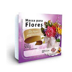 Massa para Flores Branca 500g Arcolor Rizzo Confeitaria