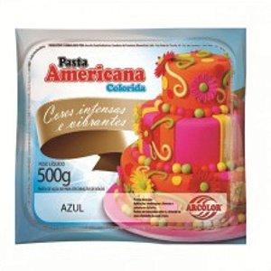 Pasta Americana Azul 500g Arcolor