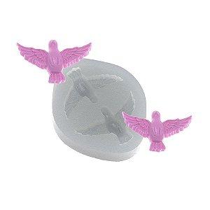 Molde de silicone Pombos Médio Ref. 371 Flexarte Rizzo Confeitaria