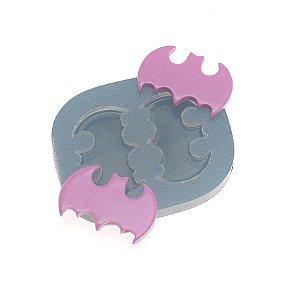 Molde de silicone Dupla de Morcegos Ref. 343 Flexarte Rizzo Confeitaria