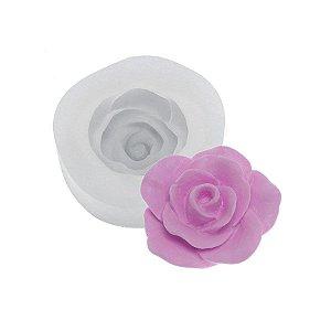 Molde de silicone Rosa Kristal Ref. 395 Flexarte Rizzo Confeitaria