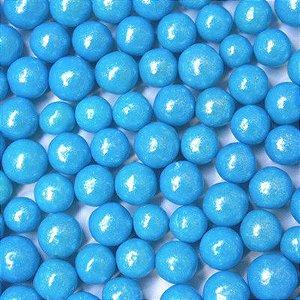 Confeitos comestíveis Pérola Grande Azul Ref. 106 Jeni Joni Rizzo Confeitaria
