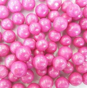 Confeitos comestíveis Pérola Grande Pink Ref. 106 Jeni Joni Rizzo Confeitaria