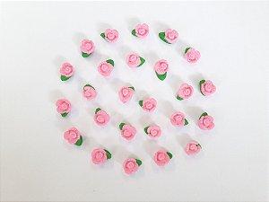 Confeitos comestíveis Flor do Campo Rosa Ref. 80 Jeni Joni Rizzo Confeitaria