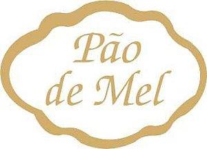 Etiqueta Adesiva Pão de Mel Cod. 065 c/ 100 un. Massai Rizzo Confeitaria