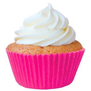 Forminha Mini CupCake Pink com 45 un. Cod. 6741 Mago Rizzo Confeitaria