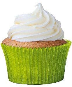Forminha CupCake Verde Limão com 45 un. Cod. 6893 Mago Rizzo Confeitaria