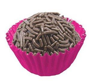 Forminha de Papel N° 3 Pink Cor Dentro e Cor Fora com 100 un. Cod. 7074 Mago Rizzo Confeitaria