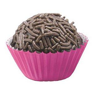 Forminha de Papel N° 4 Pink com 100 un. Cod. 3182 Mago Rizzo Confeitaria