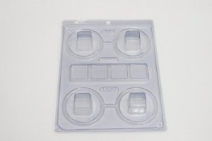 Forma Especial Mini Caixa Quadrada BWB Rizzo Confeitaria