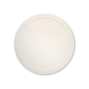 Base para Bolo Cake Board Redondo Branco 38 cm Ultrafest Rizzo Confeitaria