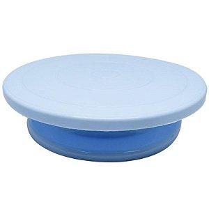 Prato Giratório Bailarina Azul ArtLille Rizzo Confeitaria