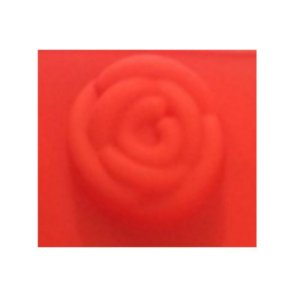 Forma de Silicone Média Rosa ArtLille Rizzo Confeitaria