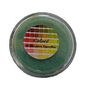 Pó para decoração, Brilho para Superfície Colorê Maçã 2g LullyCandy Rizzo Confeitaria
